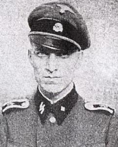 Унтершарфюрер СС Эрнст Краузе (SS-Oberscharfuhrer Ernst Krause) - автор проекта медали «За зимнюю кампанию на Востоке 1941/42».