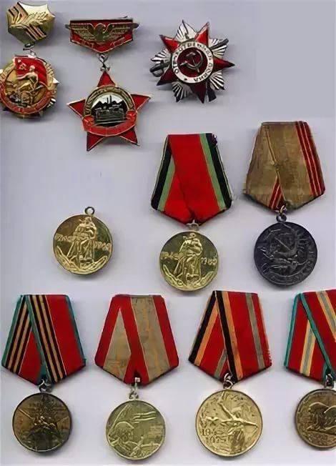 Рисунки, картинки ордена и медали ссср