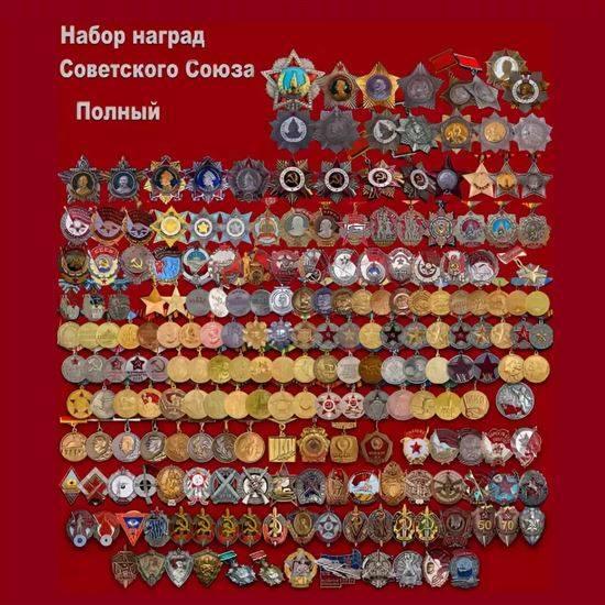 Ордена ссср по старшинству с названиями фото