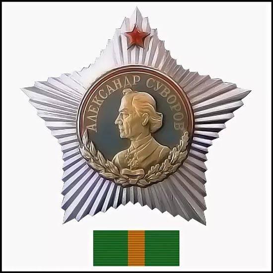 Картинка ордена суворова