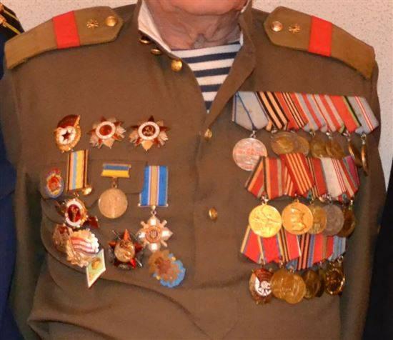 расположение медалей ссср фото свой день