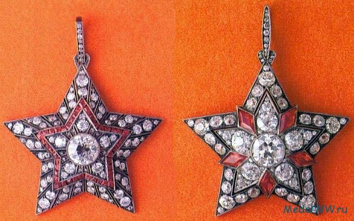 Первоначальные проекты Маршальской Звезды