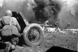ВОВ - атака советских войск