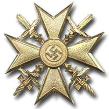 Испанский крест в золоте