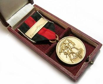 Медаль «В память 1 октября 1938 года» в коробке