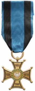 Золотой крест ордена Виртути Милитари