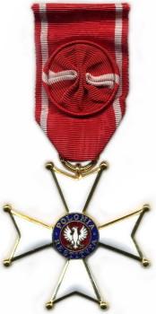 4 класс - Офицерский Крест ордена Возрождения Польши