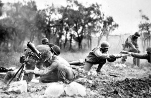 Боевые наград США - 92-ая дивизия Buffalo Soldiers состоявшая в основном из негров в Италии