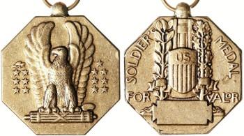Аверс и реверс Солдатской медали.
