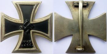 Аверс и реверс Железный Крест 1 класса.