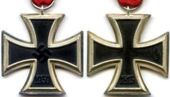 Аверс и реверс Железный Крест 2 класса.