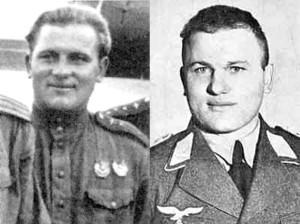 Бычков Семён Трофимович (1918-1946) - бывший ГСС, кавалер двух орденов Красного знамени. 10 декабря 1943 года сбит и раненым взят в плен. В конце апреля 1945 года сдался американским войскам, в сентябре 1945 года передан советским властям. 24 августа 1946 года приговорён к расстрелу военным трибуналом Московского военного округа. Приговор приведён в исполнение 4 ноября того же года.