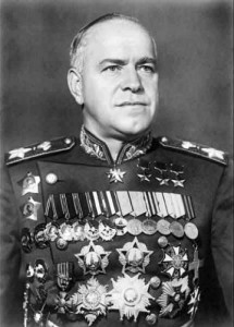 """Дважды кавалер ордена """"Победа"""" Маршал Советского Союза Г.К. Жуков."""