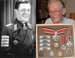 Гауптман Бодо Спранз (Bodo Spranz, 1920-2007) командир 1 батареи 237 бригады штурмовых орудий. Кавалер ордена Германского креста. В марте 1943 года награжден Рыцарским Крестом Железного креста (в последствии с дубовыми листьями) за уничтожение 76 вражеских танков.