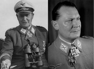 Рейхсмаршал Великогерманского рейха Герман Вильгельм Геринг (Hermann Wilhelm Goring, 1893-1946), единственный награждённый Большим Крестом Железного Креста за период существования Третьего рейха.
