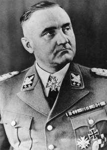 Начальник Главного управления СС Готтлоб Кристиан Бергер (Gottlob Christian Berger, 1896—1975).