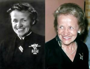 Награды 3 рейха - Железный крест - Ханна Райч (Hanna Reitsch, 1912-1979)