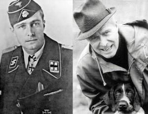 СС-штандартенфюрер Йохен Пайпер (Joachim Peiper, 1915-1976) , командир 1-го танкового полка Liebstandarte-SS Adolf Hitler, кавалер Рыцарского креста с Дубовыми листьями и Мечами. Отличился своей жестокостью по отношению к мирному населению. Погиб в результате взрыва бомбы в своём доме в июле 1976 года.