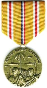 Медаль Азиатско-Тихоокеанской кампании