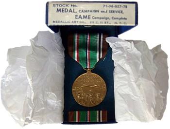 Медаль Европейско-Африканско-Ближневосточной кампании