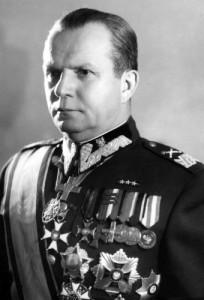Маршал Польши Михаил Роля-Жимерский (Michał Rola-Żymierski, 1891989).