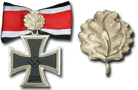 Рыцарский крест Железного креста с Дубовыми Листьями