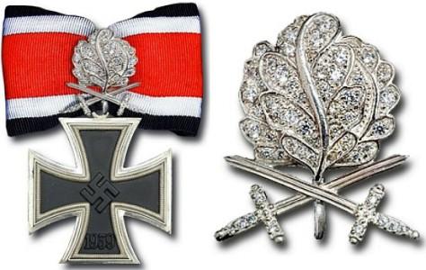 Рыцарский крест Железного креста с Дубовыми Листьями, Мечами и Бриллиантами