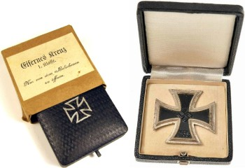 Железный крест в коробке