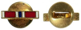 Значок награды с изображением ленты медали для ношения на гражданской одежде.