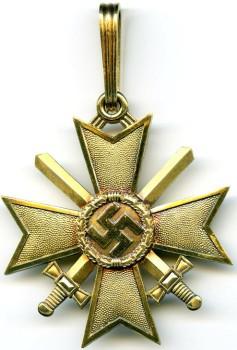 Золотой Рыцарский крест Креста военных заслуг